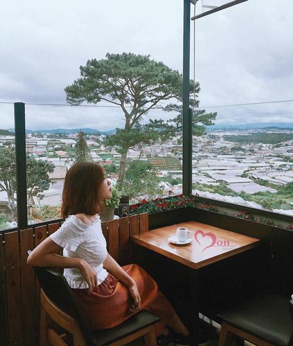 4 quán cà phê ở Đà Lạt có tầm nhìn thoáng đãng, thỏa sức check-in