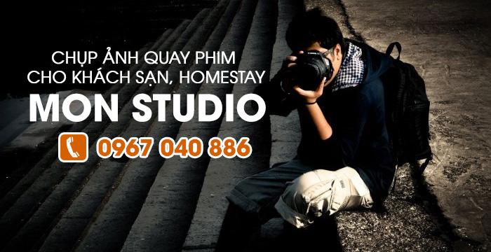Dịch vụ chụp ảnh quay phim quảng cáo khách sạn homestay Đà Lạt
