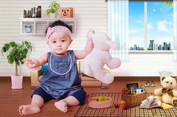 Chụp ảnh cho bé 1 tuổi Đà Lạt - Mon Studio