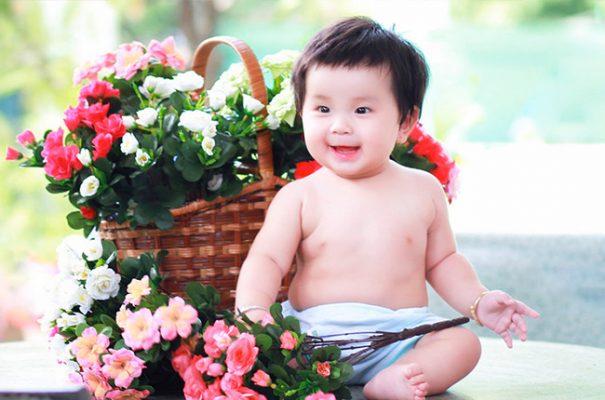 Chụp ảnh cho bé Đà Lạt 1 tuổi - Mon Studio