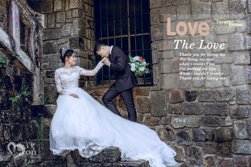 Chuyên Chụp ảnh cưới Đà Lat gía rẻ nhất - Mon Studio