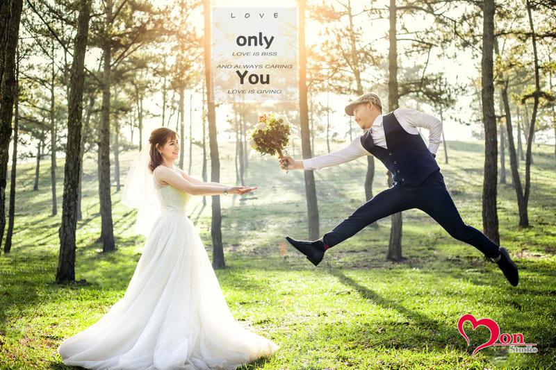 Mon Studio nhận chụp ảnh cưới Đà Lạt giá rẻ