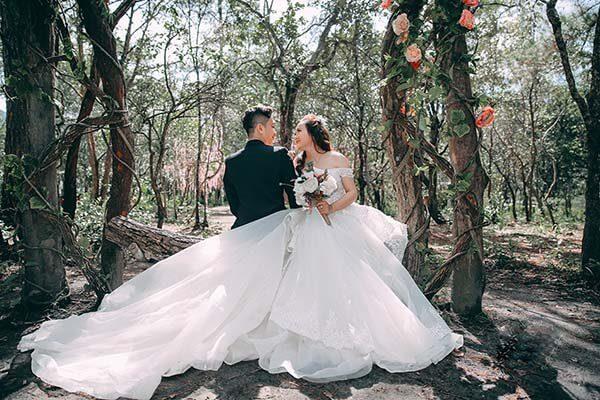 Hồ Tuyền Lâm Đà Lạt - Album ảnh cưới cực đẹp cho giới trẻ (4)