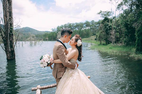 Hồ Tuyền Lâm Đà Lạt - Album ảnh cưới cực đẹp cho giới trẻ (6)