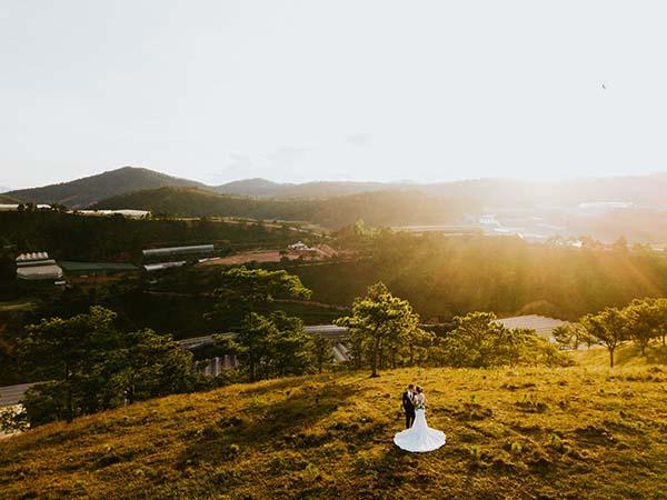 Chụp ảnh cưới bằng flycam - Xu hướng mới lạ độc đáo (8)