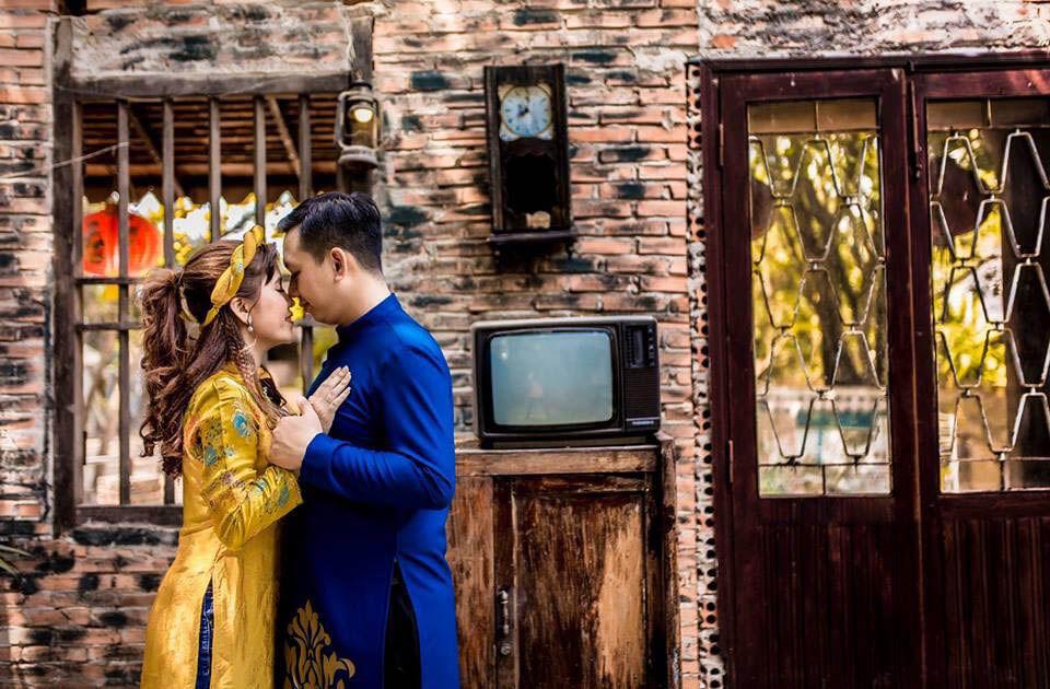 Chụp ảnh cưới theo phong cách hoài cổ chưa bao giờ lỗi thời (1)