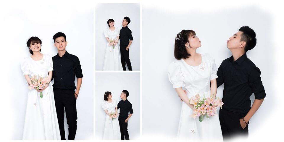 Tạo dáng chụp ảnh cưới trong phòng đơn giản nhưng không đơn điệu (4)