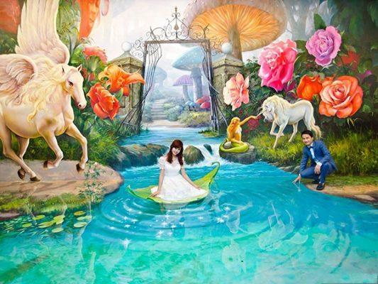 Chụp ảnh cưới 3D - Xu hướng mới lạ được nhiều dâu rễ quan tâm hiện nay (2)