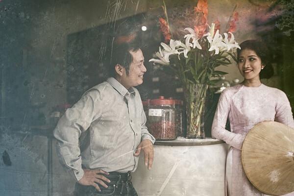 Phong cách chụp ảnh cưới thập niên 80 đã thu hút không ít dâu rễ (2)