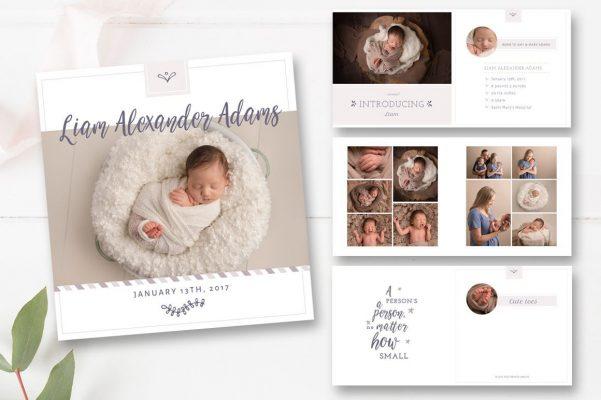 Bật mí ý tưởng chụp hình trẻ sơ sinh và tạo album siêu cute (2)