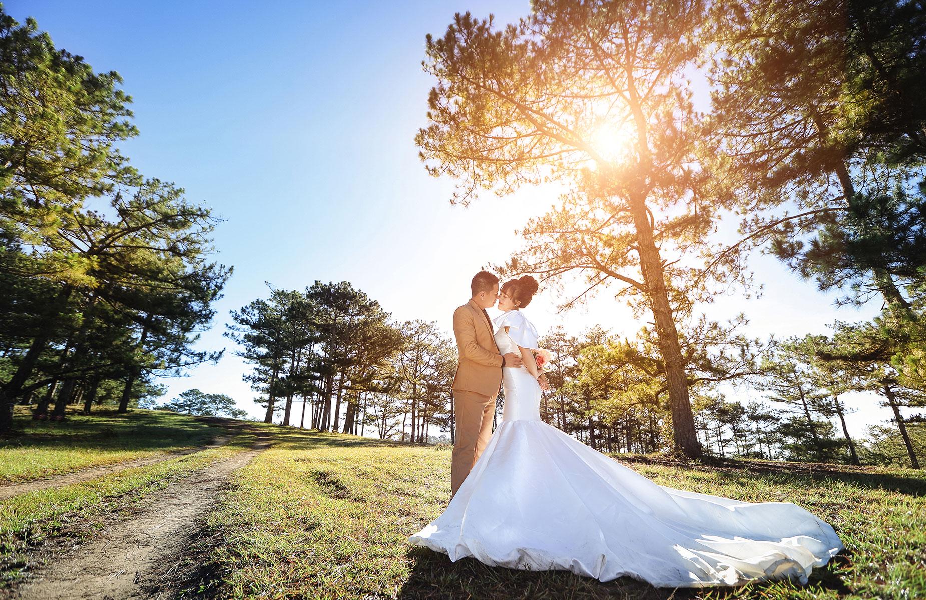 Bật mí 7 tư thế và cách tạo dáng đẹp khi chụp ảnh cưới1