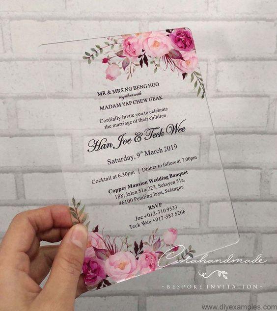 Chia sẻ 6 mẫu thiệp cưới ấn tượng cho ngày chung đôi của bạn (1)