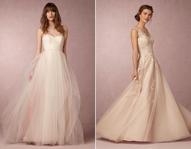 Chia sẻ 9 kiểu váy cô dâu dành riêng cho tiệc cưới tại bãi biển1