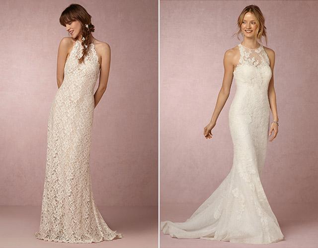 Chia sẻ 9 kiểu váy cô dâu dành riêng cho tiệc cưới tại bãi biển2
