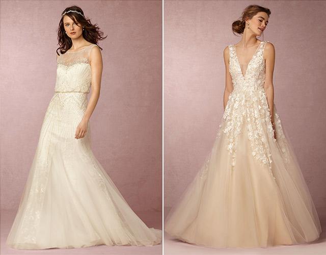 Chia sẻ 9 kiểu váy cô dâu dành riêng cho tiệc cưới tại bãi biển4