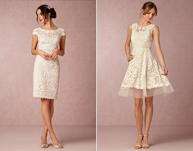 Chia sẻ 9 kiểu váy cô dâu dành riêng cho tiệc cưới tại bãi biển5
