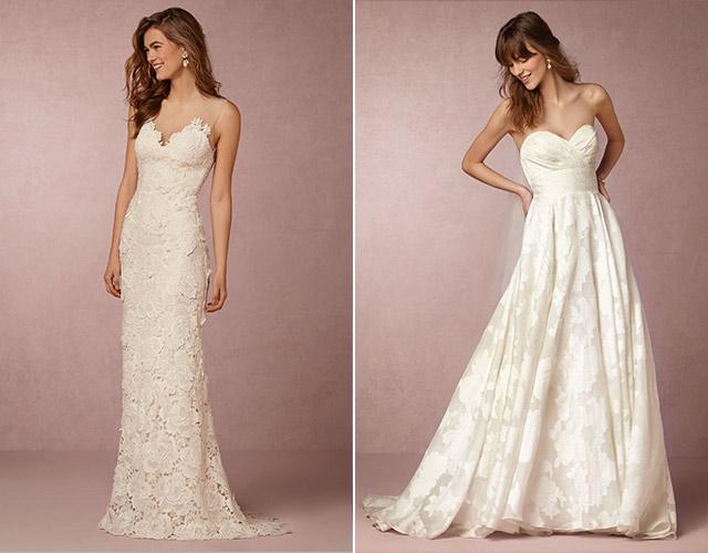 Chia sẻ 9 kiểu váy cô dâu dành riêng cho tiệc cưới tại bãi biển7