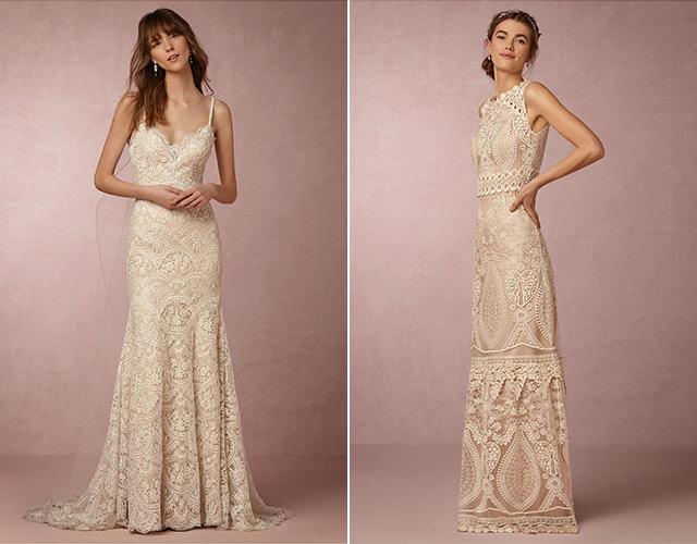 Chia sẻ 9 kiểu váy cô dâu dành riêng cho tiệc cưới tại bãi biển8